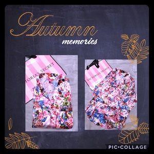 Victoria's Secret silk PJ top/BNWT